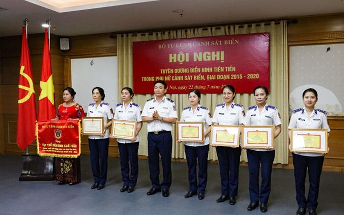 Phụ nữ có vai trò quan trọng trong lực lượng cảnh sát biển