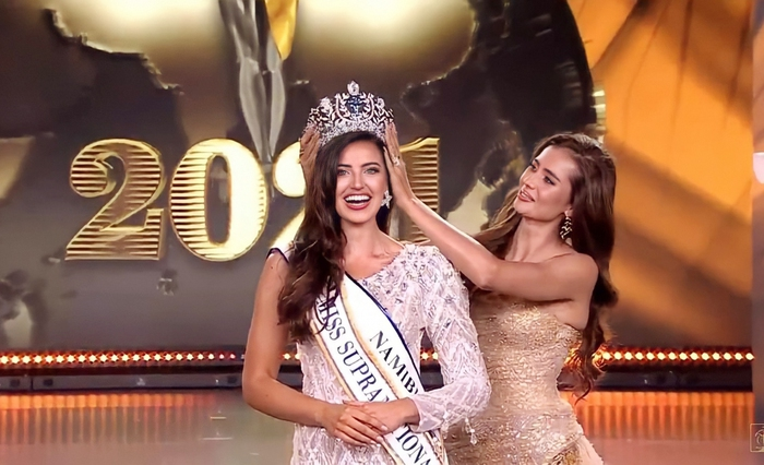 """Tân Hoa hậu Siêu quốc gia được ví như """"bản sao"""" của siêu mẫu Irina Shayk - Ảnh 1."""