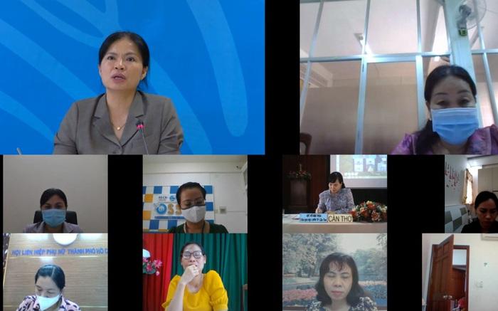 Chủ tịch Hội LHPN Việt Nam nắm bắt tình hình dịch Covid-19 tại các tỉnh, thành phố thực hiện Chỉ thị 16