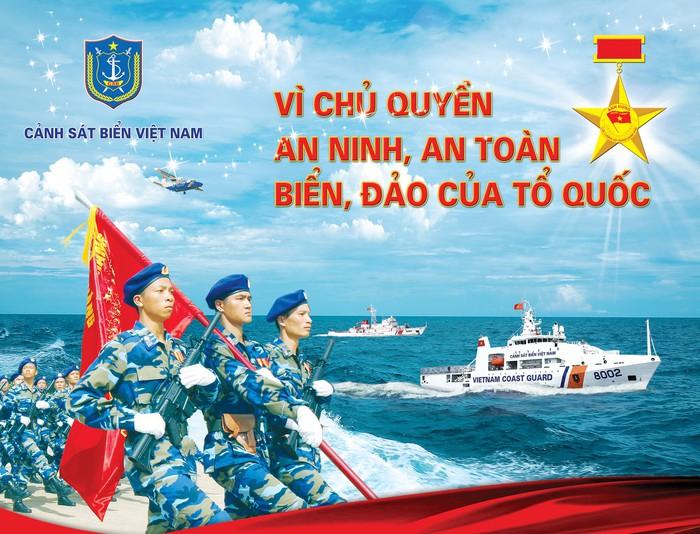 """Tham dự cuộc thi trực tuyến """"Tìm hiểu Luật Cảnh sát biển Việt Nam"""" - Ảnh 1."""