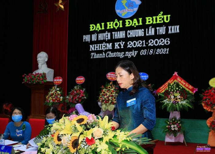 Phụ nữ Thanh Chương góp phần đưa địa phương trở thành huyện khá của tỉnh Nghệ An - Ảnh 1.