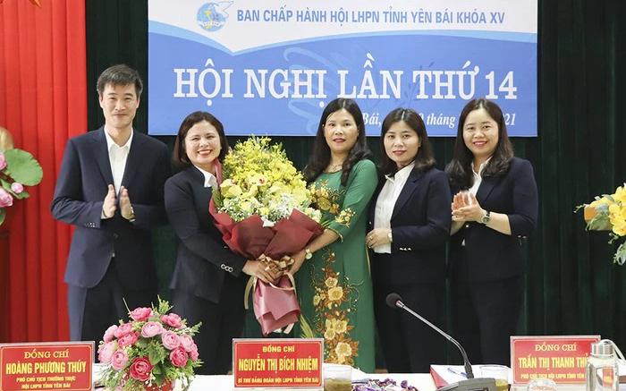 Yên Bái tổ chức thành công Đại hội đại biểu phụ nữ cấp huyện, thị, thành phố - Ảnh 3.