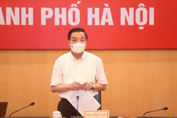 """Phó Thủ tướng Vũ Đức Đam thị sát và hỏi """"Hà Nội cần thêm biện pháp gì chống dịch?"""" - Ảnh 3."""