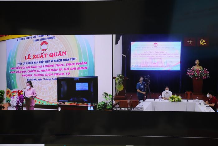 TPHCM tiếp nhận  5.000 túi an sinh từ tỉnh Bình Phước - Ảnh 1.