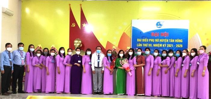 Đồng Tháp: Đại hội đại biểu Phụ nữ cấp huyện đầu tiên tổ chức trực tuyến - Ảnh 1.