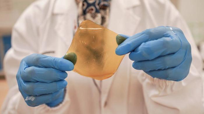 Singapore chế tạo vỏ sầu riêng thành băng keo dạng gel kháng khuẩn - Ảnh 1.