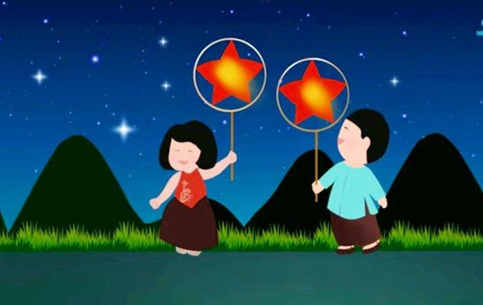 """Vui Tết Trung thu cùng bài hát """"Chiếc đèn ông sao"""" phiên bản tiếng Anh  - Ảnh 4."""