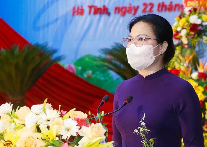 Hà Tĩnh khai mạc Đại hội đại biểu Phụ nữ tỉnh lần thứ XVI - Ảnh 3.