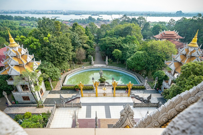 Chùa Bửu Long, niềm tự hào của kiến trúc Phật giáo Nam tông - Ảnh 2.