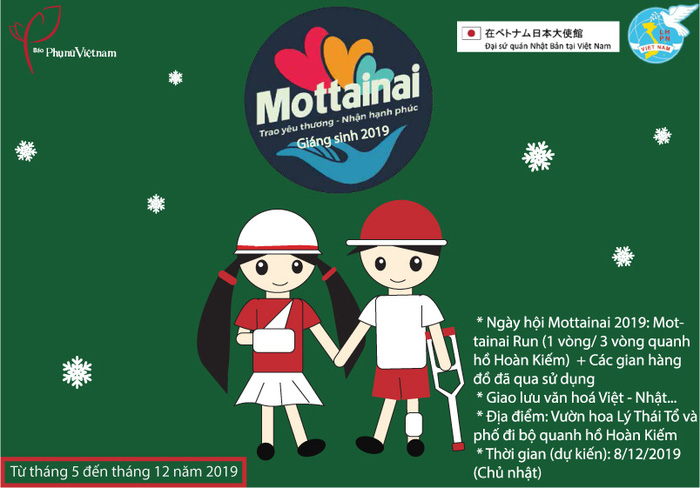 Các cá nhân, đơn vị của Nhật trao yêu thương đến Mottainai 2019 - Ảnh 3.
