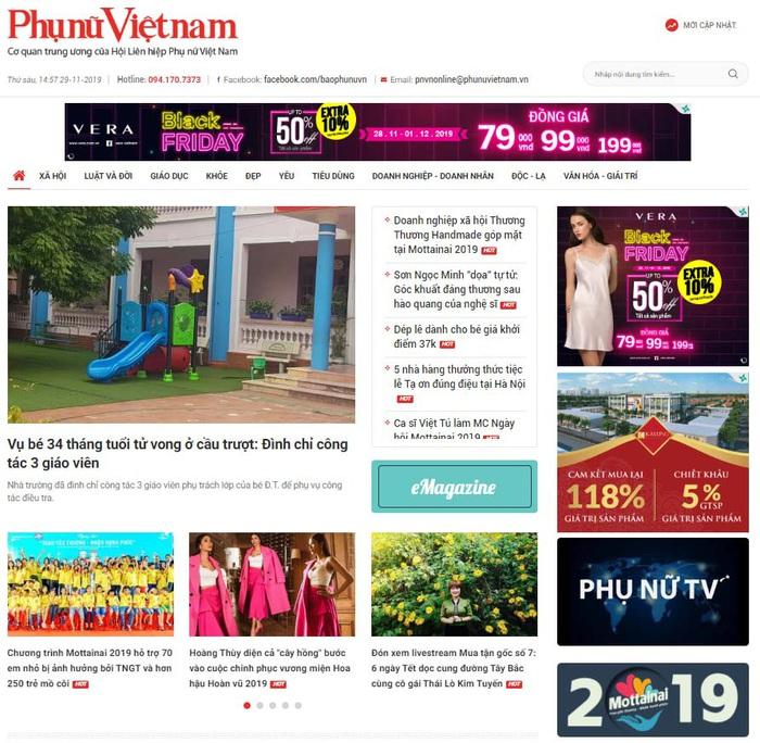 Đón xem giao diện mới của Báo Phụ nữ Việt Nam điện tử  - Ảnh 1.