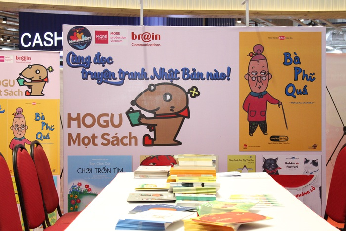 Gian hàng truyện tranh More Ehon tại Ngày hội Mottainai 2019 Trung thu trao yêu thương - nhận hạnh phúc tại TP.HCM