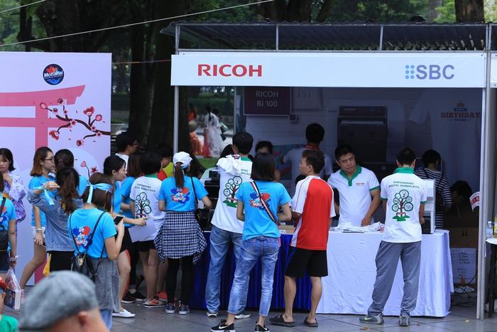 Gian hàng Ricoh Việt Nam