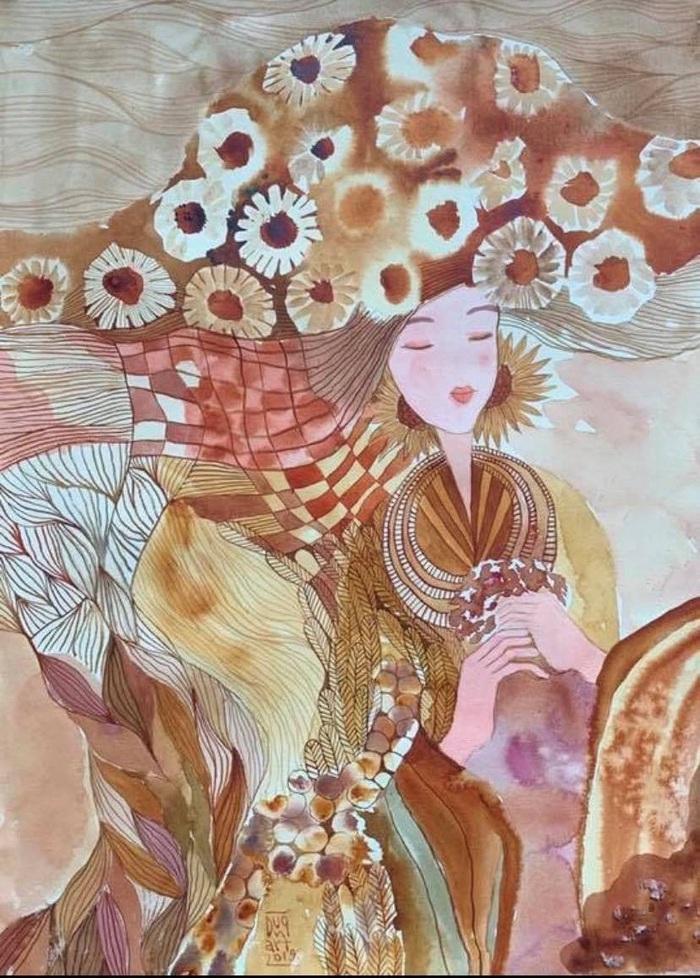 """Chiêm ngưỡng Sa Pa tuyệt đẹp trong """"Mơ"""" của hai họa sĩ trẻ - Ảnh 8."""