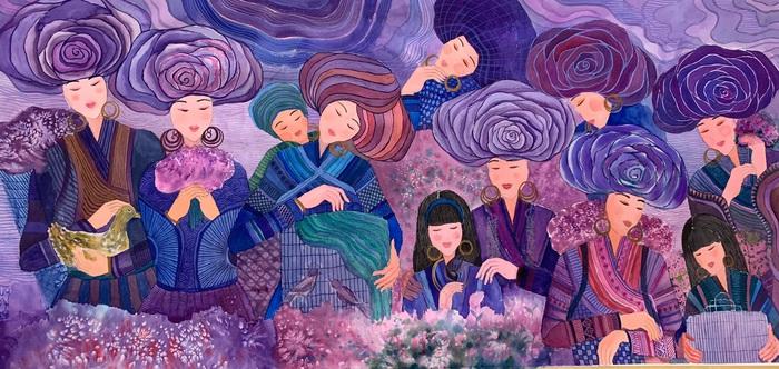 """Chiêm ngưỡng Sa Pa tuyệt đẹp trong """"Mơ"""" của hai họa sĩ trẻ - Ảnh 3."""
