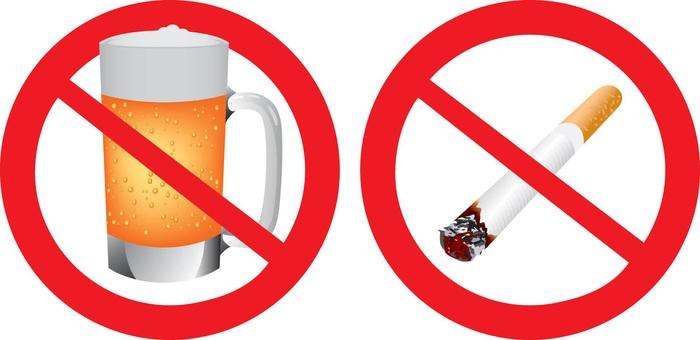 Không hút thuốc lá, lạm dụng bia rượu là những biện pháp phòng ngừa ung thư thực quản hiệu quả
