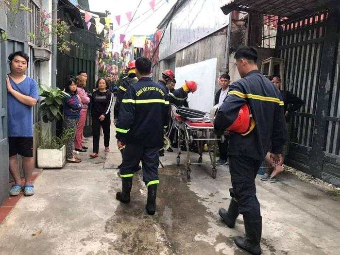 Hà Nội: Cháy lớn trong hẻm, 3 bà cháu tử vong thương tâm - Ảnh 1.