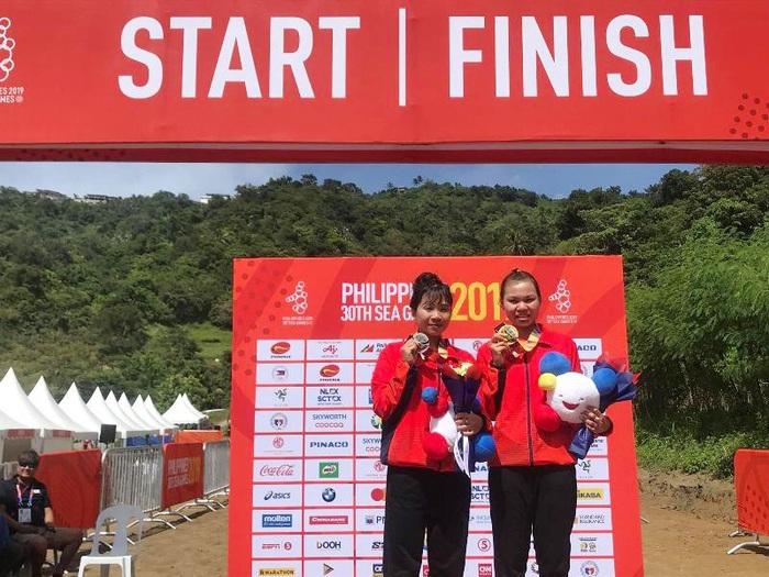 Nữ VĐV Xe đạp giành Huy chương Vàng đầu tiên cho Việt Nam ở SEA Games 30 - Ảnh 2.