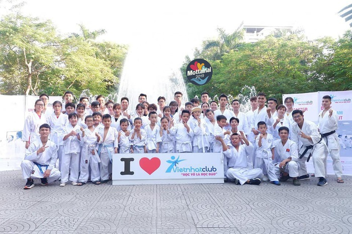 Đây là năm đầu tiên Vietnhat Club đồng hành cùng Mottainai