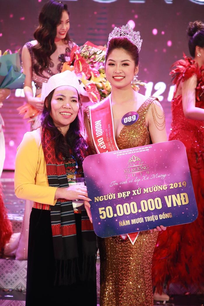 Nữ sinh 19 tuổi đăng quang Người đẹp xứ Mường 2019 - Ảnh 2.