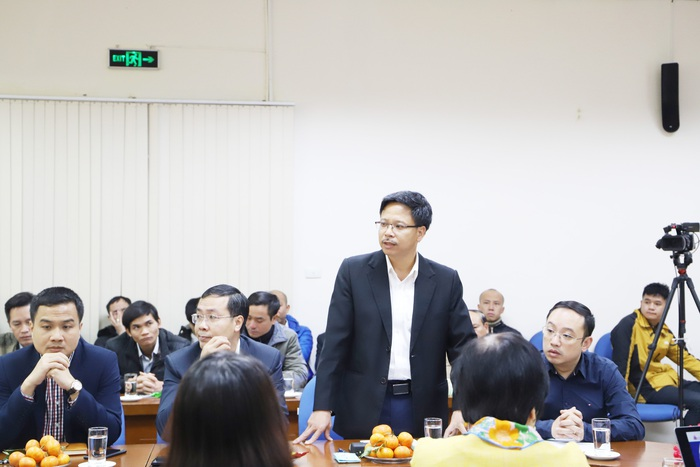 Ông Nguyễn Công Nhật - Phó Tổng Giám đốc Transeco phát biểu