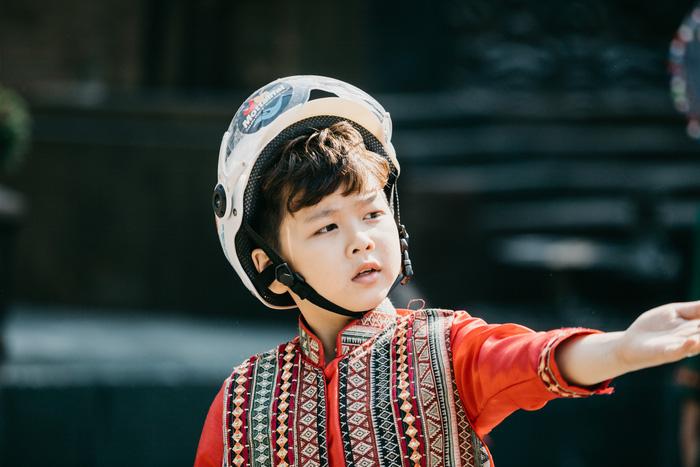 Ngắm dàn hotboy nhí mặc áo dài, đội mũ bảo hiểm tại Ngày hội Mottainai - Ảnh 11.