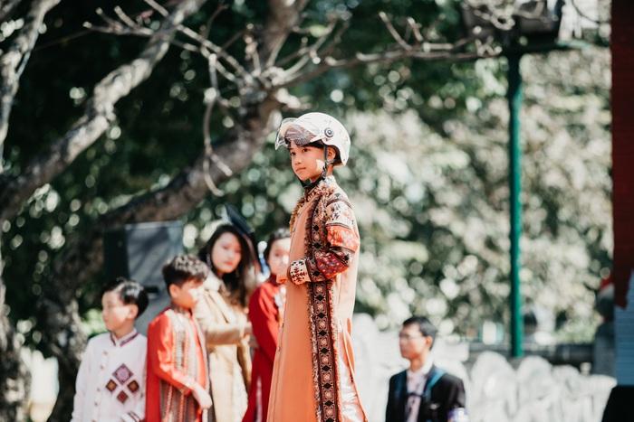 Ngắm dàn hotboy nhí mặc áo dài, đội mũ bảo hiểm tại Ngày hội Mottainai - Ảnh 13.