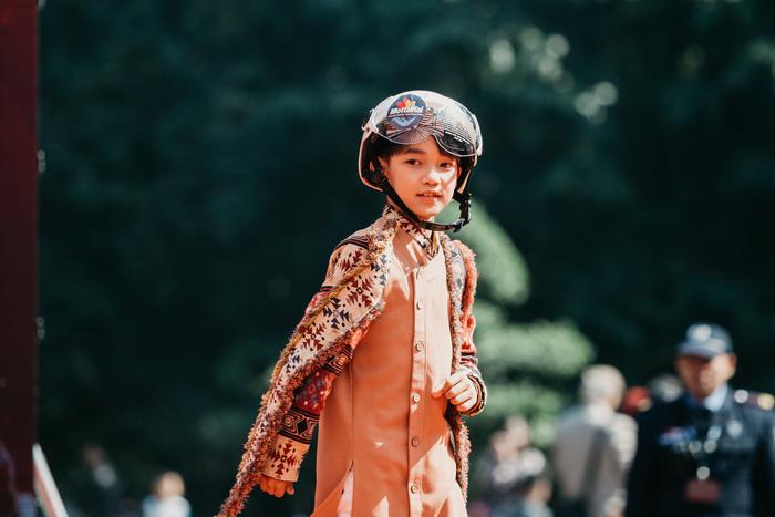 Ngắm dàn hotboy nhí mặc áo dài, đội mũ bảo hiểm tại Ngày hội Mottainai - Ảnh 12.
