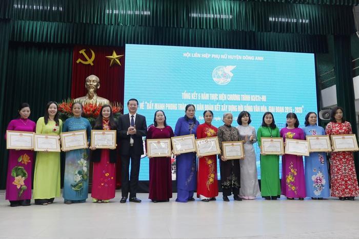 Hội LHPN huyện Đông Anh tổng kết hoạt động công tác Hội, phong trào phụ nữ năm 2019 - Ảnh 8.