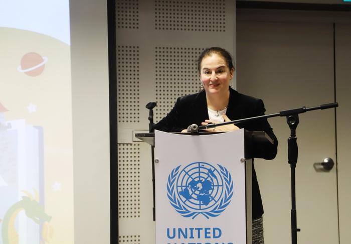 Bà Elisa Fernandez - Trưởng văn phòng UN Women tại Việt Nam