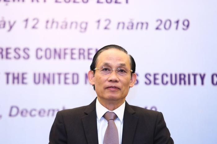 Thứ trưởng Bộ Ngoại giao Lê Hoài Trung