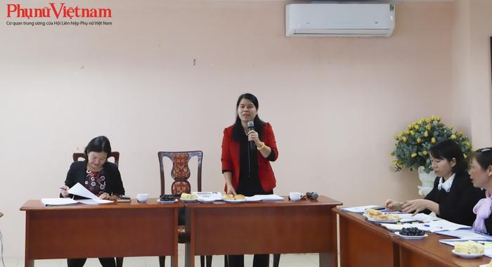 Bà Nguyễn Thị Tuyết Mai, Ủy viên Đoàn Chủ tịch, Trưởng ban Gia đình Xã hội đã tóm tắt những kết quả công tác đảm bảo an toàn thực phẩm năm 2019.