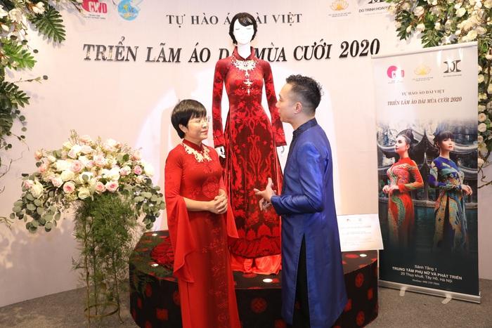 MC Thảo Vân và NTK Đỗ Trịnh Hoài Nam
