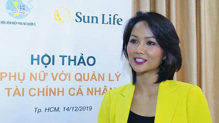 """Hoa hậu H'Hen Niê đồng hành cùng """"Phụ nữ với quản lý tài chính cá nhân""""  - Ảnh 1."""
