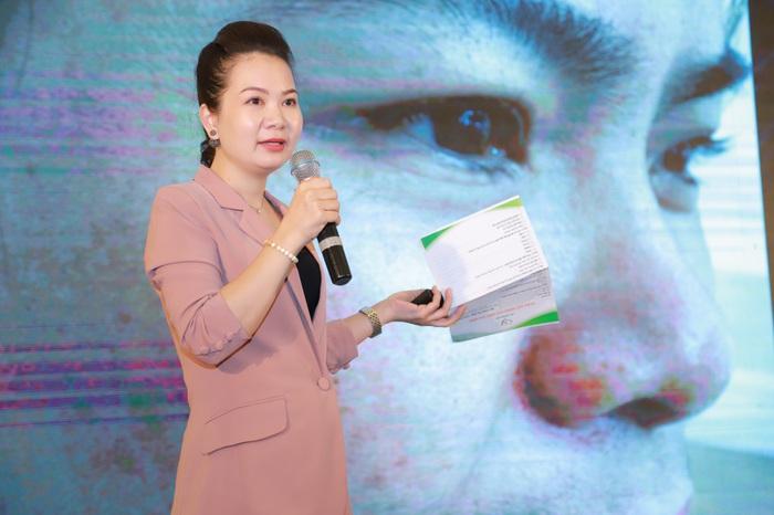 Chị Phạm Thu Thủy - Đại diện Tây Thi Danh viện Việt Nam sẽ mang đến cơ hội làm đẹp da cho hàng trăm khách hàng