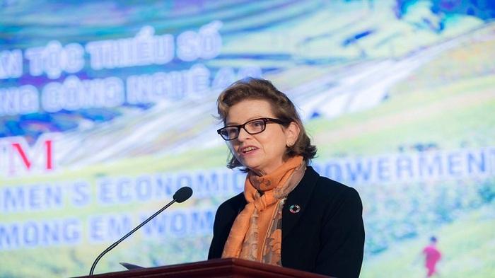 Bà Caitlin Wiesen - Đại diện thường trú của UNDP tại Việt Nam