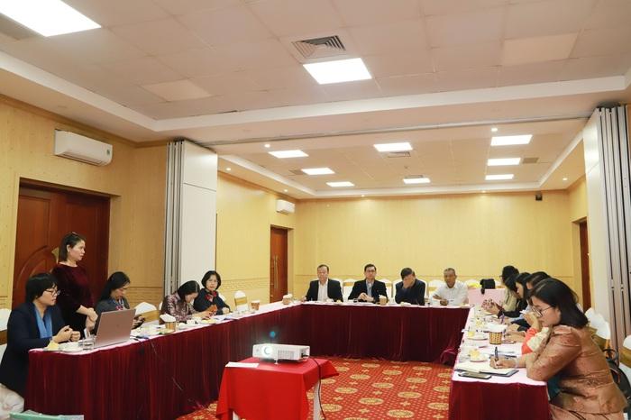Buổi làm việc của Hội LHPN Việt Nam và đoàn đại biểu của liên ngành của Campuchia về phòng, chống mua bán người