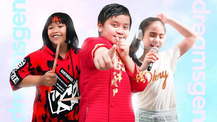 Trọng Nhân, Thụy Bình, Yến Khang - Các thành viên từ nhóm nhạc nhí Dreams Gen