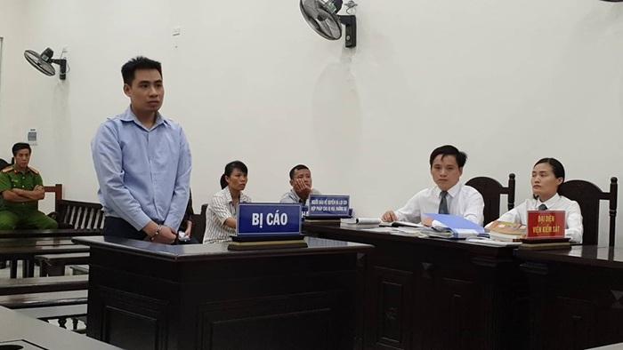 Bị cáo Nguyễn Trọng Trình bị TAND thành phố Hà Nội tuyên án chung thân tại phiên tòa sơ thẩm.