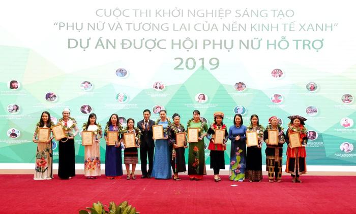 Nhiều ý tưởng khởi nghiệp đã được Hội LHPN Việt Nam chắp cánh