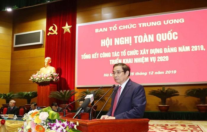 Hội nghị tổng kết công tác tổ chức xây dựng Đảng năm 2019 - Ảnh 1.