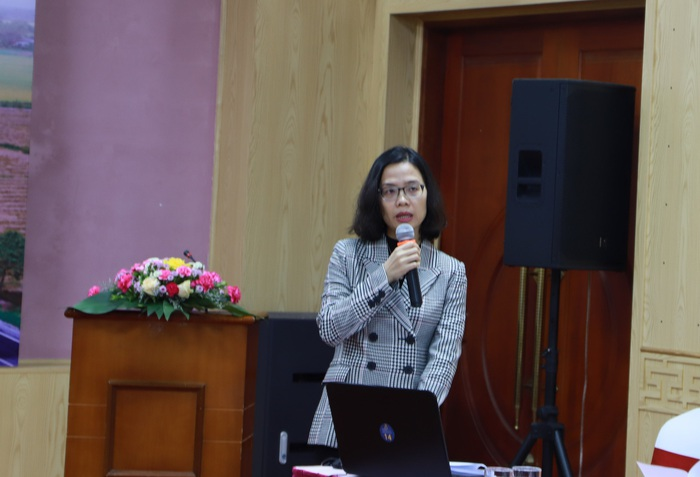 Bà Trần Thị Thanh Nhàn điểm qua thực trạng lao động nữ vùng đồng bằng sông Cửu Long