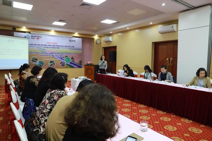 Hội thảo Việc làm cho phụ nữ nông thôn vùng đồng bằng sông Cửu Long: Cơ hội và thách thức