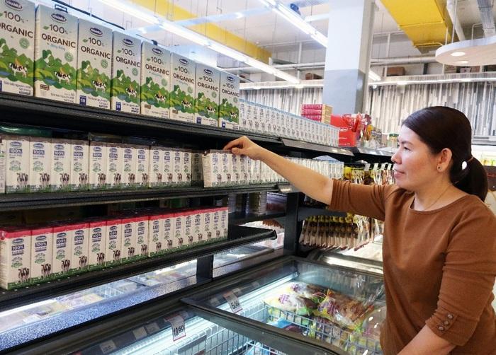 Theo Vinamilk, nguyên liệu sữa được Vinamilk nhập khẩu để sản xuất sữa bột đều có xuất xứ/nguồn gốc 100% từ các nước Mỹ, Úc, New Zealand, EU và Nhật Bản