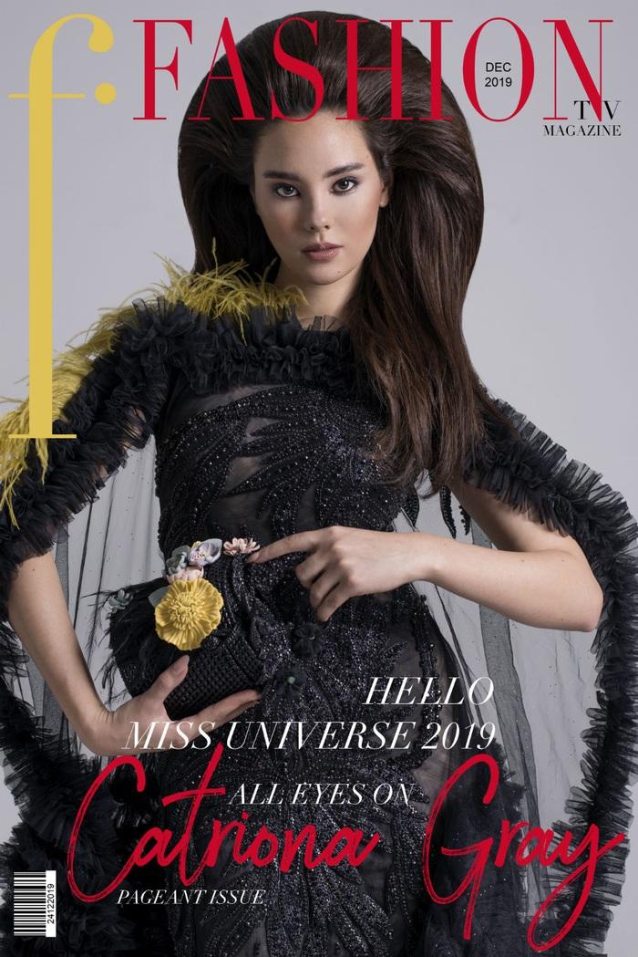 Hoa hậu Hoàn vũ 2018 Catriona Gray đầy quyền lực với trang phục của NTK Việt - Ảnh 2.