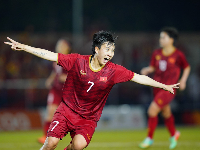 Thắng Philippines 2-0, bóng đá nữ Việt Nam gặp Thái Lan trận chung kết - Ảnh 1.