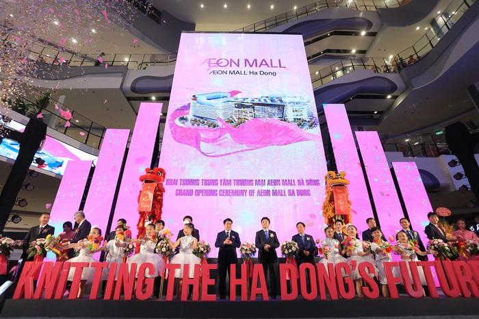 Khai trương Aeon Mall Hà Đông - Ảnh 4.