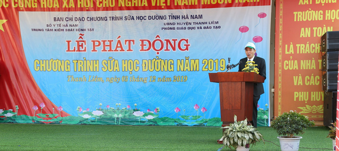 Ông Nguyễn Trọng Khải – Phó Giám đốc Sở Y tế Hà Nam cho biết: tỉnh Hà Nam sẽ phấn đấu tiếp tục triển khai và thực hiện hiệu quả chương trình SHĐ trong những năm tiếp theo nhằm phát triển nguồn lực tương lai của địa phương