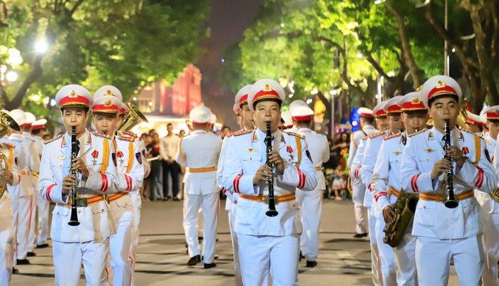 Đoàn nghi lễ Công an nhân dân biểu diễn tại Ngày hội Mottainai 2019 - Ảnh 2.