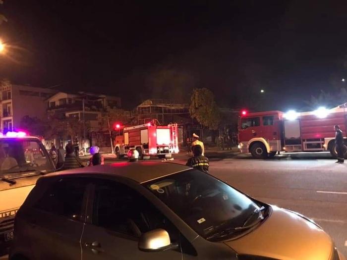 Hiện trường vụ hỏa hoạn khiến 4 người tử vong.